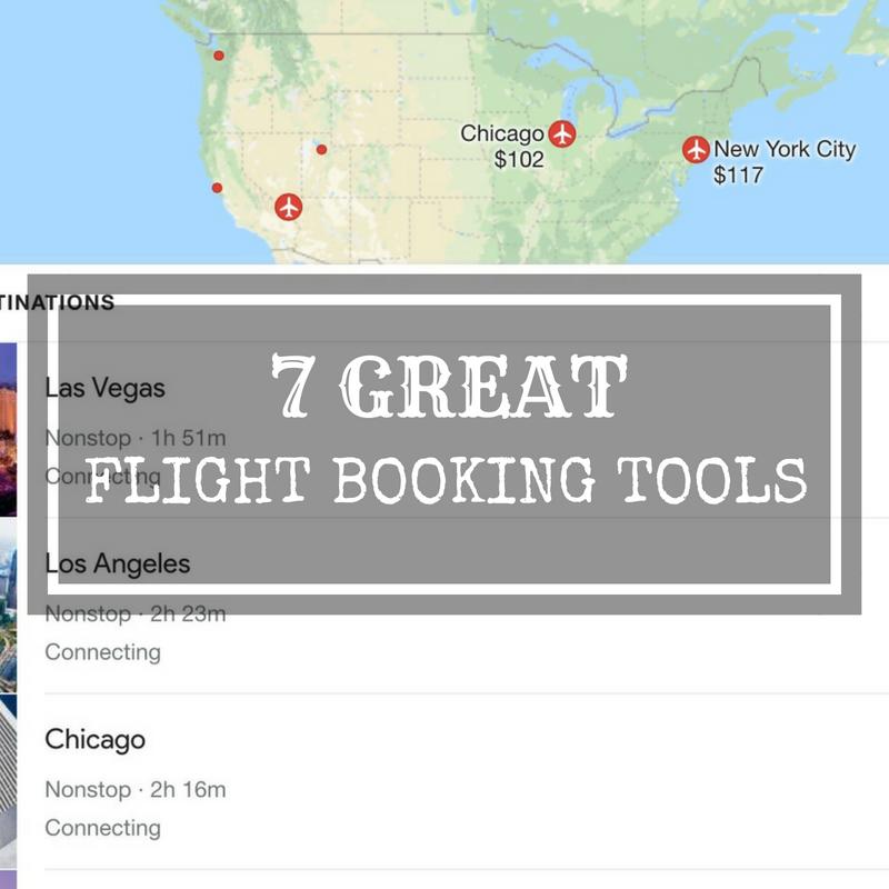 flight booking tools